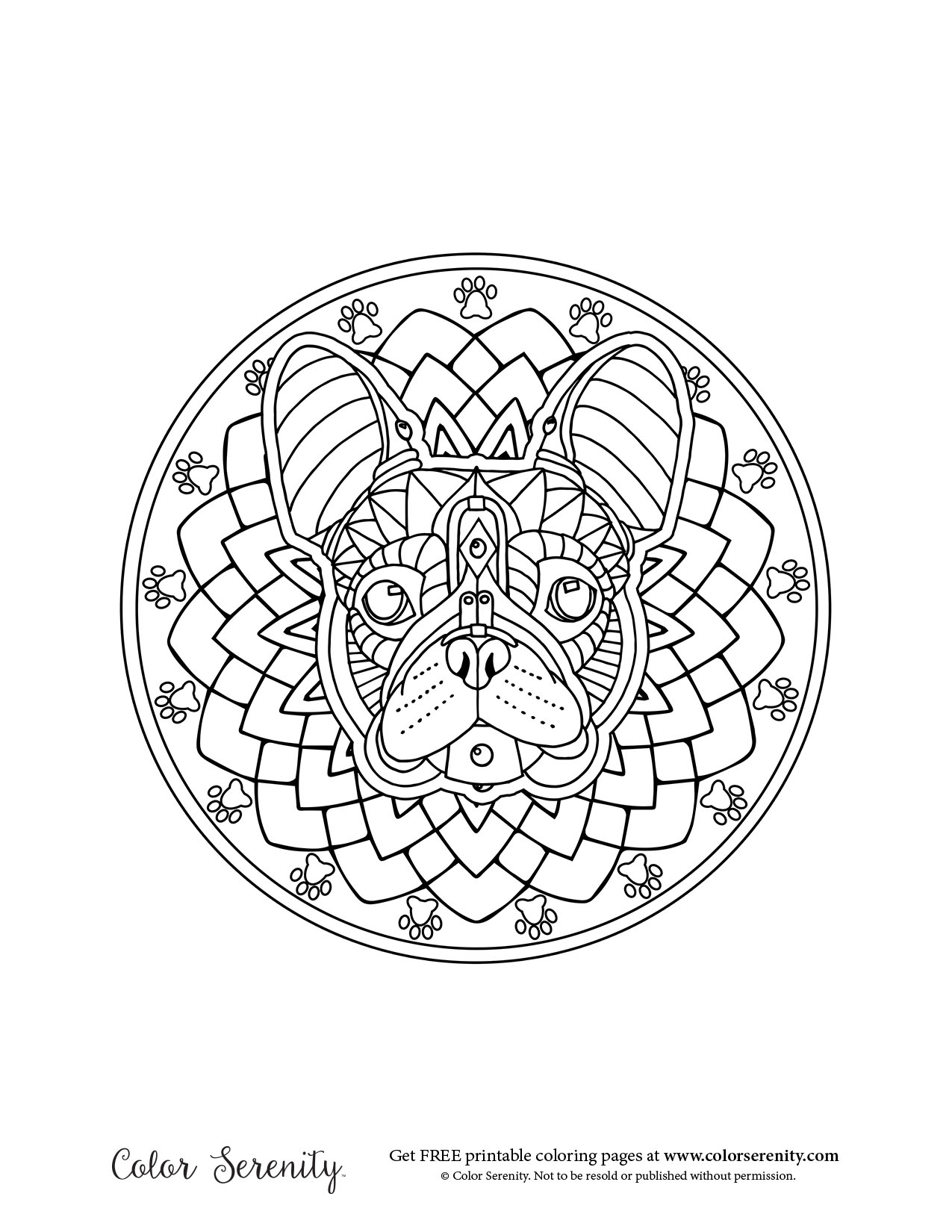 Color serenity color your stress away with adult for Serenity coloring pages
